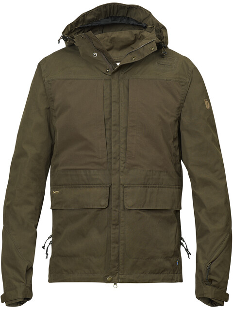 Fjällräven Lappland Hybrid Jacket Men Dark Olive